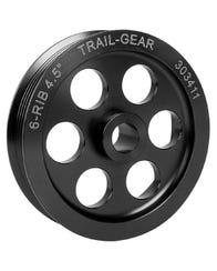 Serpentine Power Steering Pulley - 6 Rib 4.5-Inch