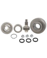 Suzuki Jimny Transfer Case Gear Set, Chain Drive, Manual, 24% High/84% Low (Full Gear Set)