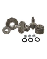 T-Case Gear Set, Chain Drive, Electric/Pushbutton, Jimny, 17% High/87% Low