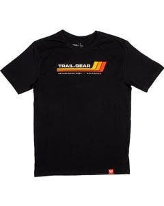 Trail-Gear Classic Toyota Stripe Black T-Shirt